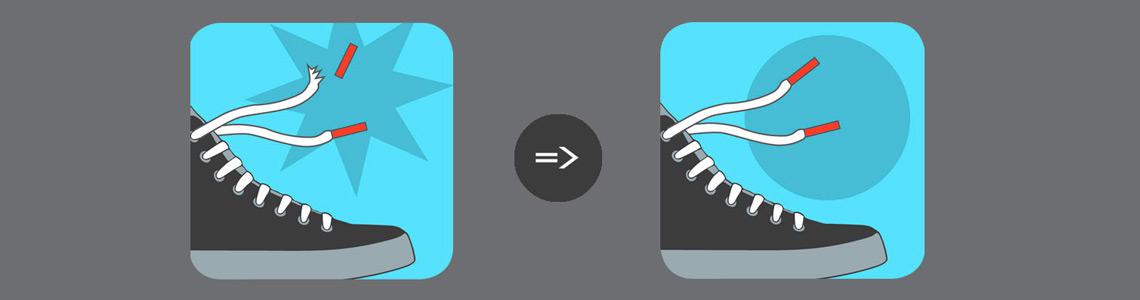 lacefix repair - Schluss mit kaputten Schnürsenkeln